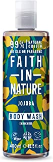 Faith In Nature Jojoba Body Wash, 400 ml
