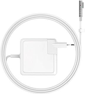 BETIONE Cargador Mac Book Pro, Cargador Mac Book, Fuente de alimentación 85W Notebook Magsafe 1 (L) - Funciona con Mac Books 45W/60W/85W - 13 y 15 Pulgadas y 17 Pulgadas (2009/2010 / 2011/2012)