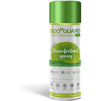 BodyGuard Multipurpose Alcohol Based Disinfectant Sanitizer Spray - 500 ml