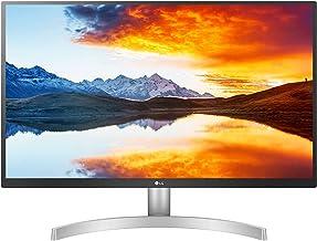 "LG 27UL500-W pantalla para PC 68,6 cm (27"") 4K Ultra HD LED Curva Mate Plata - Monitor (68,6 cm (27""), 3840 x 2160 Pixele..."