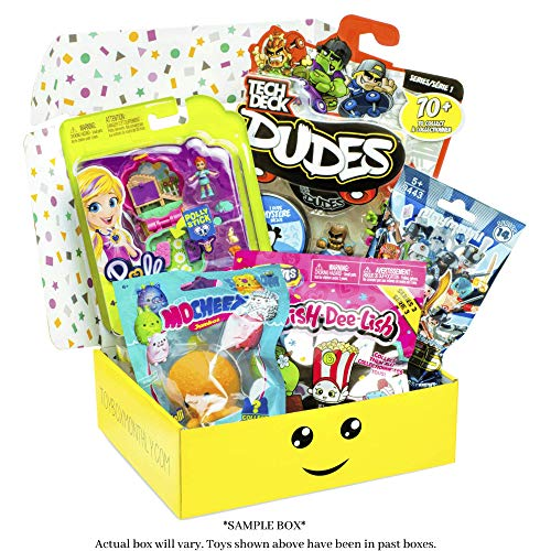 Toy Box Monthly - Kids Toy Subscription Box: Mixed Gender Ages 4 to 8