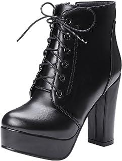 57274a65b7fd3e Amazon.fr : talon - 47 / Bottes et bottines / Chaussures femme ...