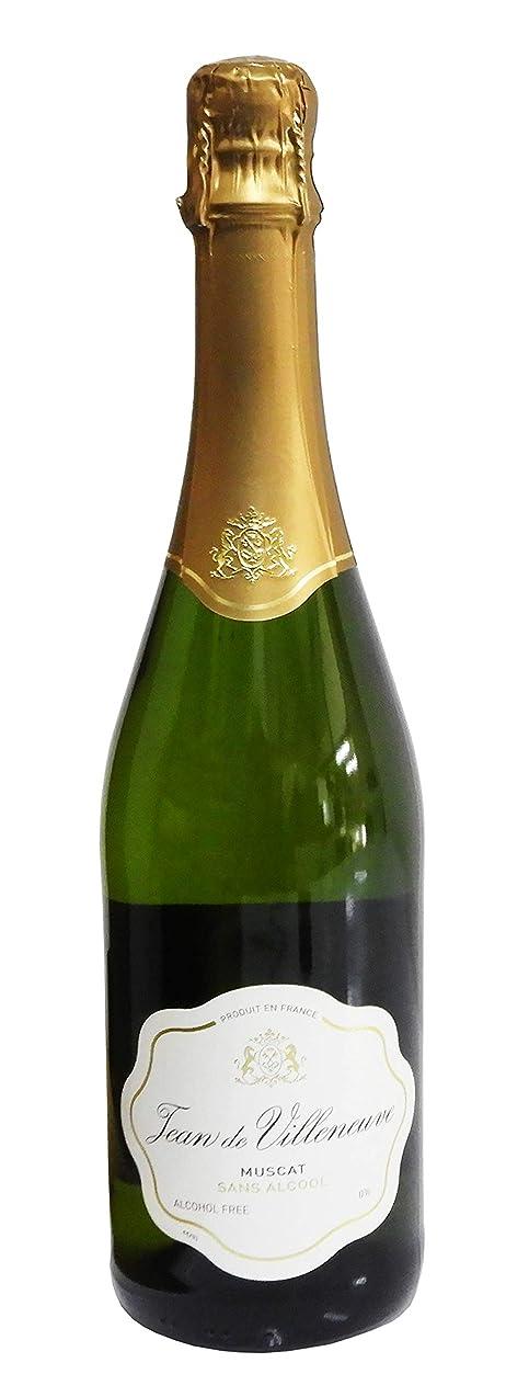 島キリマンジャロトーナメントジャン ドゥ ヴィルヌーヴ フランス産ノンアルコール スパークリングワイン 750ml