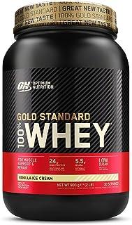 comprar comparacion Optimum Nutrition ON Gold Standard 100% Whey Proteína en Polvo Suplementos Deportivos, Glutamina y Aminoácidos, BCAA, Hela...