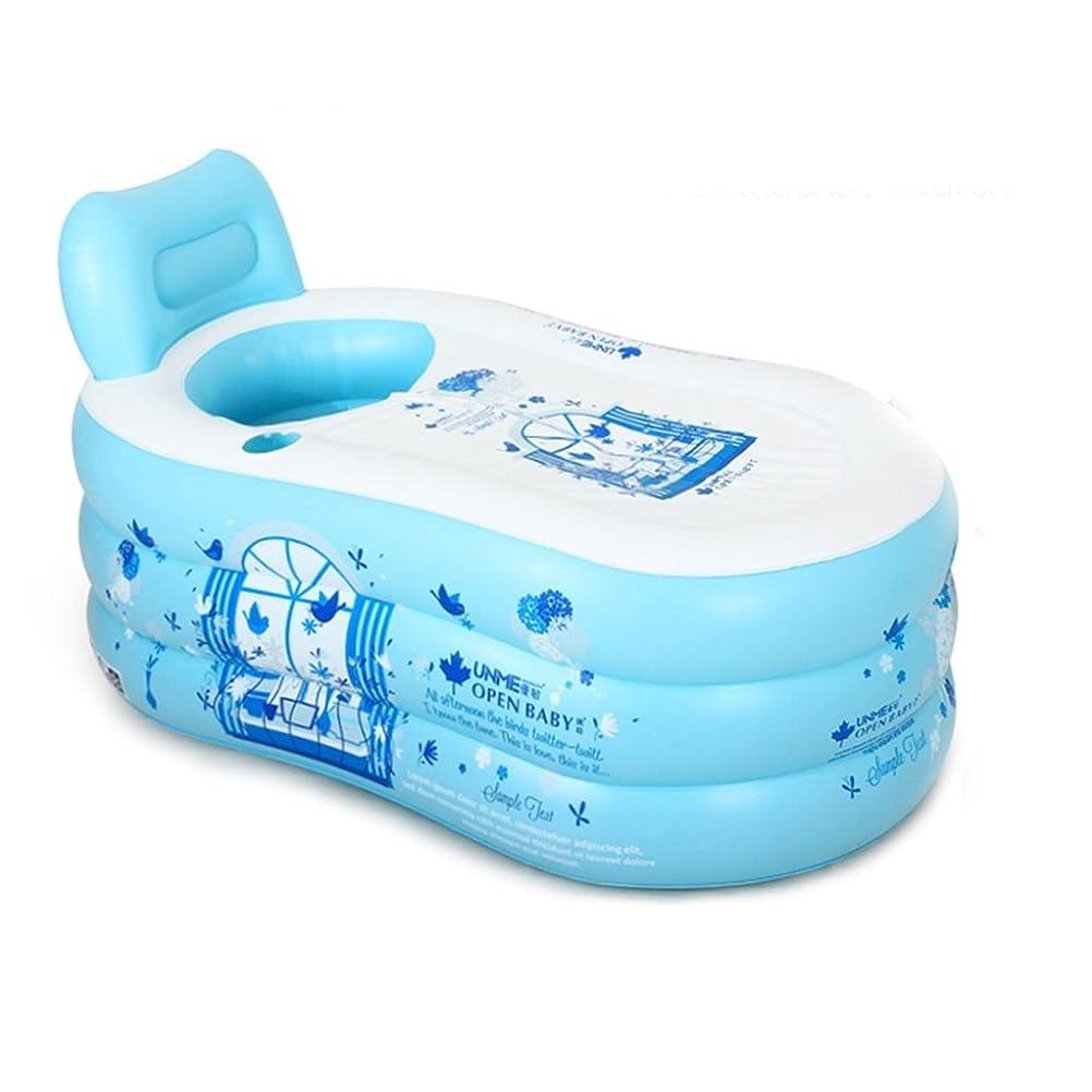 火薬むき出し存在する青アニメの充填バスタブ、携帯用収納バスタブの温厚な保温成人用療養SPA