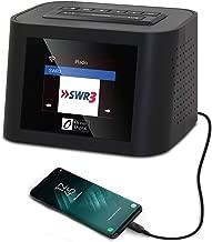 Ocean Digital Wi-Fi Internet Radios WR828F FM Receiver with Sleep Radio- for Sleeping & Relaxation Alarm Clock Stereo Dual Speaker with USB Port