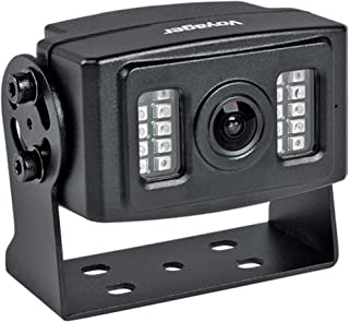 "Voyager VCMS20B Rear Color Camera with LED Low-Light Assist, Black, 1/3"" CMOS Image Sensor, 600 TV Lines Resolution, 145° ... photo"