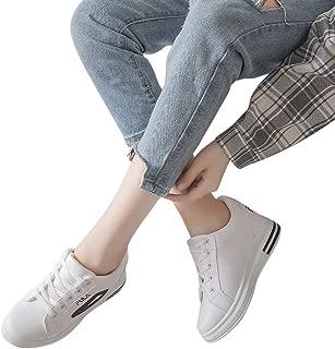 ACHICOO Ladies Heel Lifed Sports Leisure Running Shoes