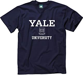 Adult Cotton T-Shirt, Short Sleeve, with Official Crest Logo for NCAA Colleges