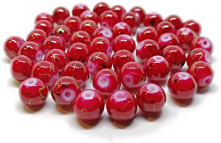 Best red marble beads Reviews