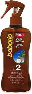 Babaria Pistola Aceite Bronceador Solar Coco SPF2-300 ml