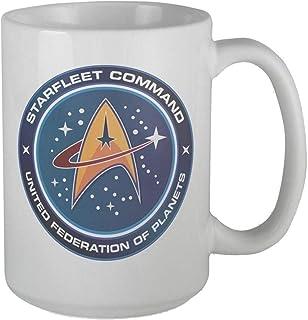 Tasse à café Star Trek de la fédération des planètes - Tasse à café ou thé - 340 ml - Cadeau idéal pour la famille et les ...
