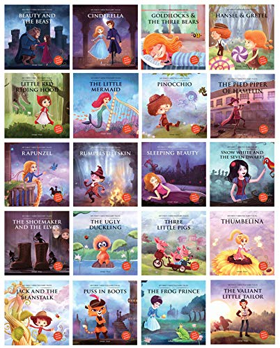 20-Piece My First Five Minutes Fairy Tales Kids' Books (Paperback) $41.30 ($2.06 Each) + Free Shipping w/ Prime or $25+