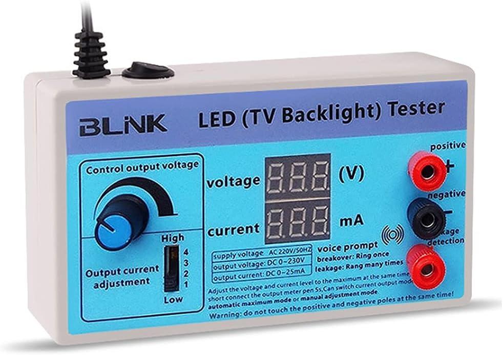 LED Lamp and TV Backlight Tester,0-300V Adaptive Voltage LED Str