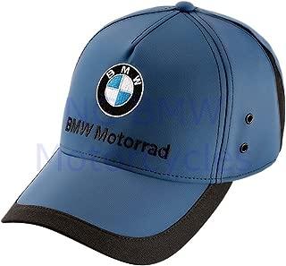 BMW Genuine Motorrad Motorcycle Sport Cap Blue One Size