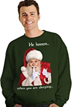 Morph Men's Digital Dudz Stuck Santa Ugly Christmas Sweater