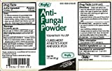 Rugby Anti-Fungal Powder Tolnaftate 1% 1.5 oz (45 g) Per Bottle [5 Bottles]