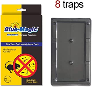 Blue Touch Large Glue Board Professional Sticky Traps Totally 8 Traps