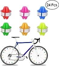 RABONO Reflective Beads Bicycle Spokes Reflective Beads Hot Wheels Warning Reflective