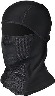 Nachvorn Men's Tactical Hood Windproof Face Mask-Balaclava Hood,Cold Weather Motorcycle Ski Mask, 1 Piece Black