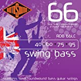 Rotosound Stainless Steel Medium Gauge Roundwound Double Ball End Bass Strings (40 60 75 95)