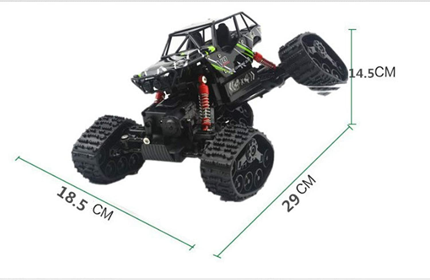 Gao Snow Climbing Offroad Fourwheel Drive Highspeed Wireless Remote Control Car