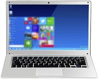 Laptop tunn och bärbar högupplöst skärm anteckningsbok dator snabb respons hastighet smal sida lätt bärbar dator - silver eu