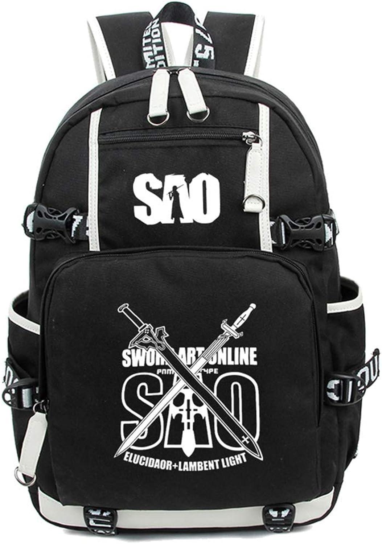 Sword Art Online SAO Leuchtend Anime Rucksack Schulrucksack Backpack Schultasche
