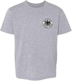 Germany Soccer Futbol Retro Vintage National Team Youth Kids Girl Boy T-Shirt