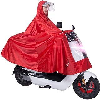 RYY Raincoats Waterproof Rain Poncho,Cycling Raincoat Bicycle Rainwear Jacket Capes Lightweight Compact Reusable for Adult...