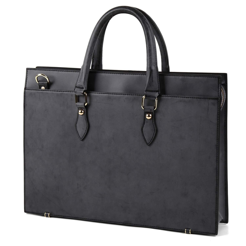 [ラファエロ] Raffaello 英国王室が愛する表裏フルブライドルレザー メンズビジネスバッグ