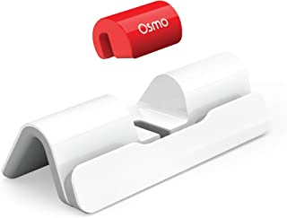 Osmo - New Base for iPad - 2 Hands-On Learning Games - Creative Drawing & Problem Solving/Early Physics - (Osmo iPad Base Included) White/Red