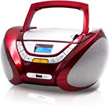 Lauson Boombox with Cd Player Mp3   Portable Radio CD-Player Stereo with USB   USB &..