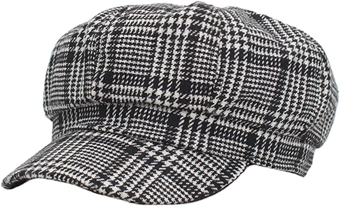 Fashion Women Octagonal Hats Beret Caps Female Sun Hat Octagonal Newsboy Cap
