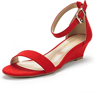 Best red wedge heels with ankle strap Reviews