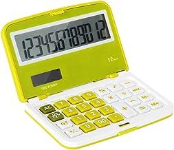 $30 » ZZL Multifunction Flip Section Calculator Cute Mini Portable Office Solar Candy Color Solar Calculator Blue/Green/Orange P...