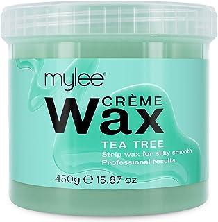 Mylee Zachte Crème Wax voor Gevoelige Huid 450g, Magnetron & Waxverwarmer Bestendig, Ideaal Voor Alle Lichaamsdelen Hardne...