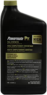 Powermate Px P018-0084SP 100% Full Synthetic Air Compressor Oil,