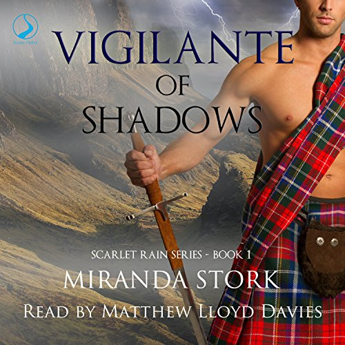 Vigilante of Shadows audiobook cover art