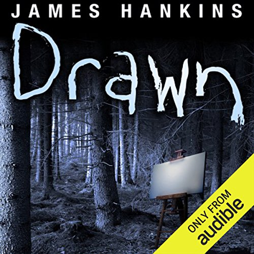 Drawn audiobook cover art