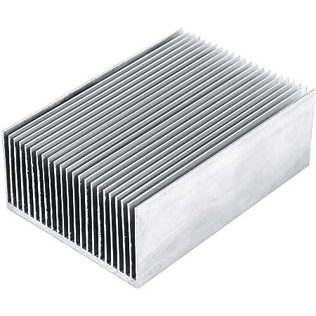 10Stk 28x28x13mm Aluminium Kühlkörper Kühler für CPU IC Transistor Kühlung