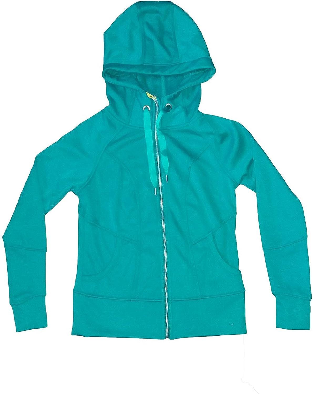 BNCI Women by white Nori Full Zip Hooded Jacket Hoodie Sweatshirt Variety, Green. Small.