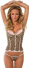 Velvet Kitten Sexy Leopard Cami Camisole Lingerie Set #3249