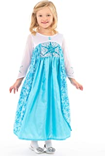 Little Adventures Ice Princess Dress up Costume for Girls
