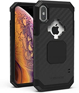 Rokform Rugged [iPhone X/XS] Military Grade Magnetic Protective Case with Twist Lock - Black