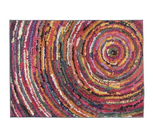 Alfombrista Moderna 2 Alfombra, Acrílico, Multicolor, 160 x 230 cm