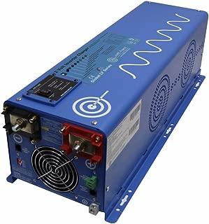 AIMS Power 4000 Watt Pure Sine Inverter Charger 12VDC 240 VAC Input to 120 & 240 VAC 50 OR 60HZ