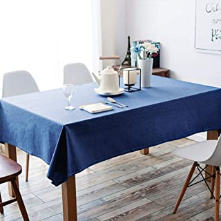 Raye Nappe En Lin Tissu Impermeable Carre Table De Cuisine Housse