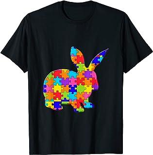 lapin Lapin Jigsaw Puzzle Autisme T-Shirt