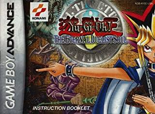Yu-Gi-Oh! - The Eternal Duelist Soul GBA Instruction Booklet (Game Boy Advance Manual Only)